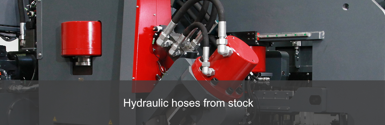 Hydraulic hoses from stock