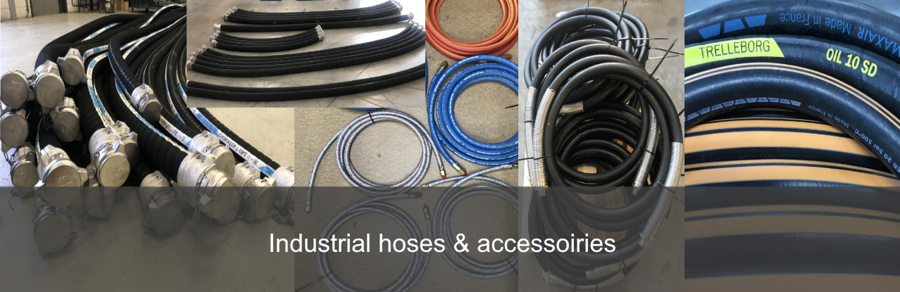 Industrial hoses and accessoiries